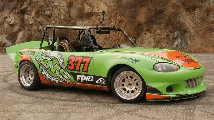 Avete mai visto una Mazda MX-5 così?