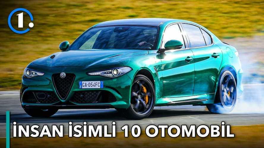 İnsan isimli 10 Otomobil | Bilgin Olsun