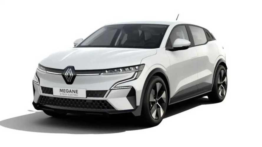 La Renault Mégane E-Tech électrique dans sa version de base !