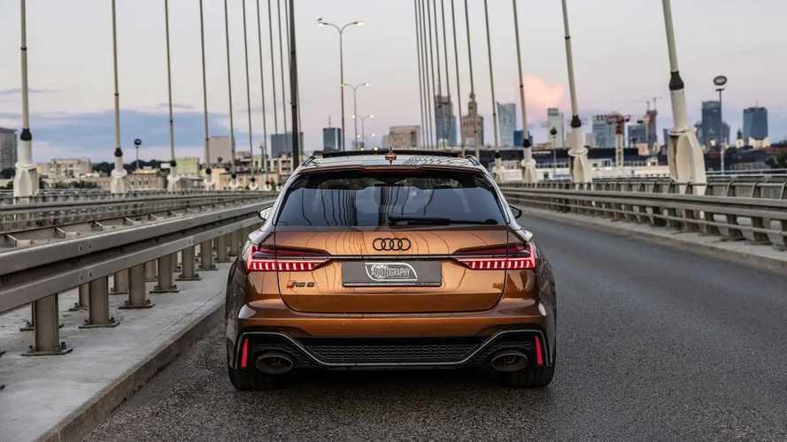 Audi RS 6 Avant Ipanema Brown