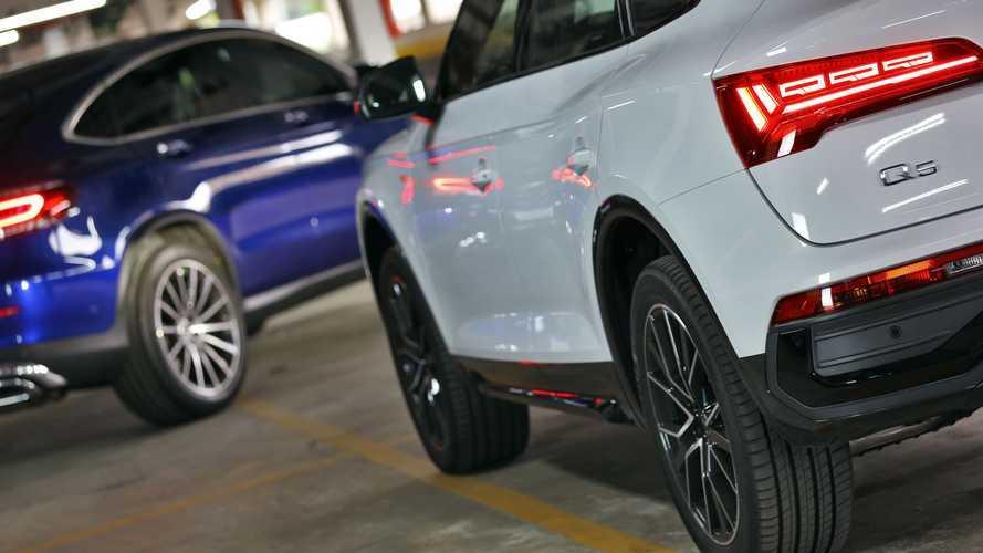 Audi Q5 Sportback vs. Mercedes-Benz GLC 300 Coupé