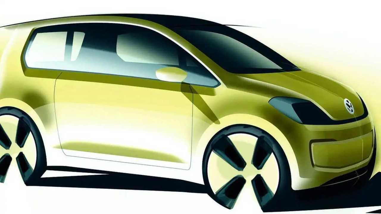 Il render della citycar elettrica di Volkswagen