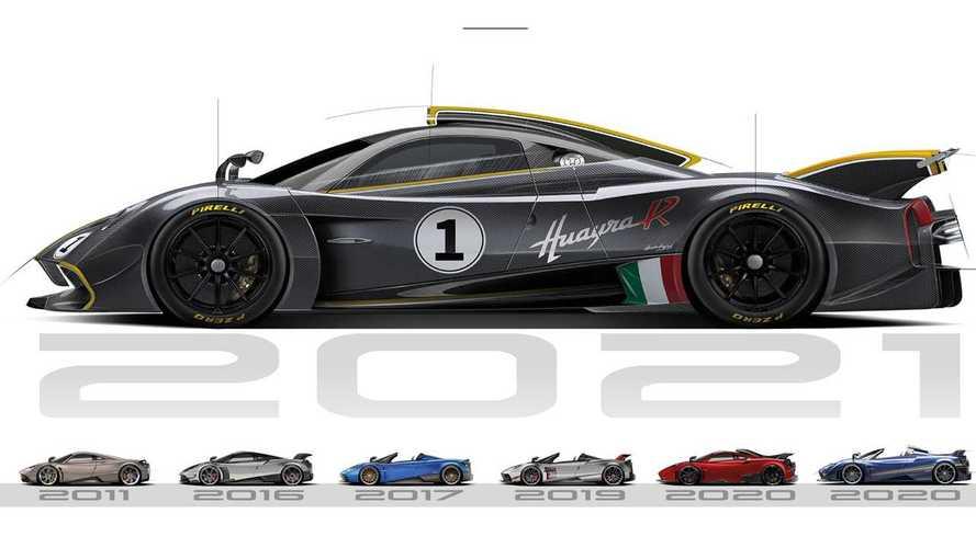 Así suena el motor V12 del Pagani Huayra R en Monza