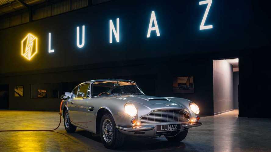 Aston Martin DB6 EV от Lunaz