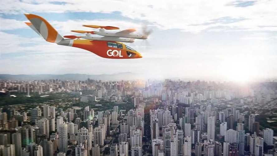 Gol anuncia compra de 'carros voadores elétricos' para o Brasil