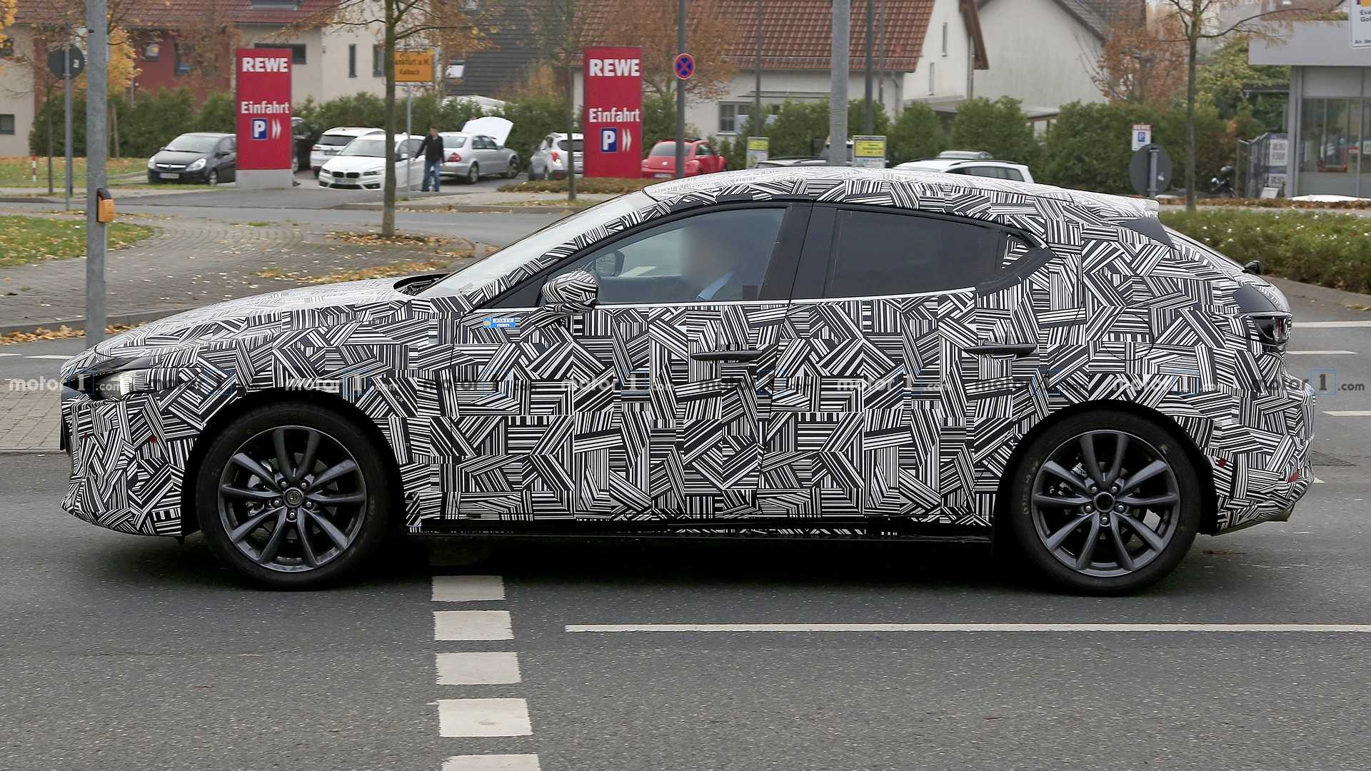 New Mazda3 Spied On The Road Weeks Before Big Debut Update