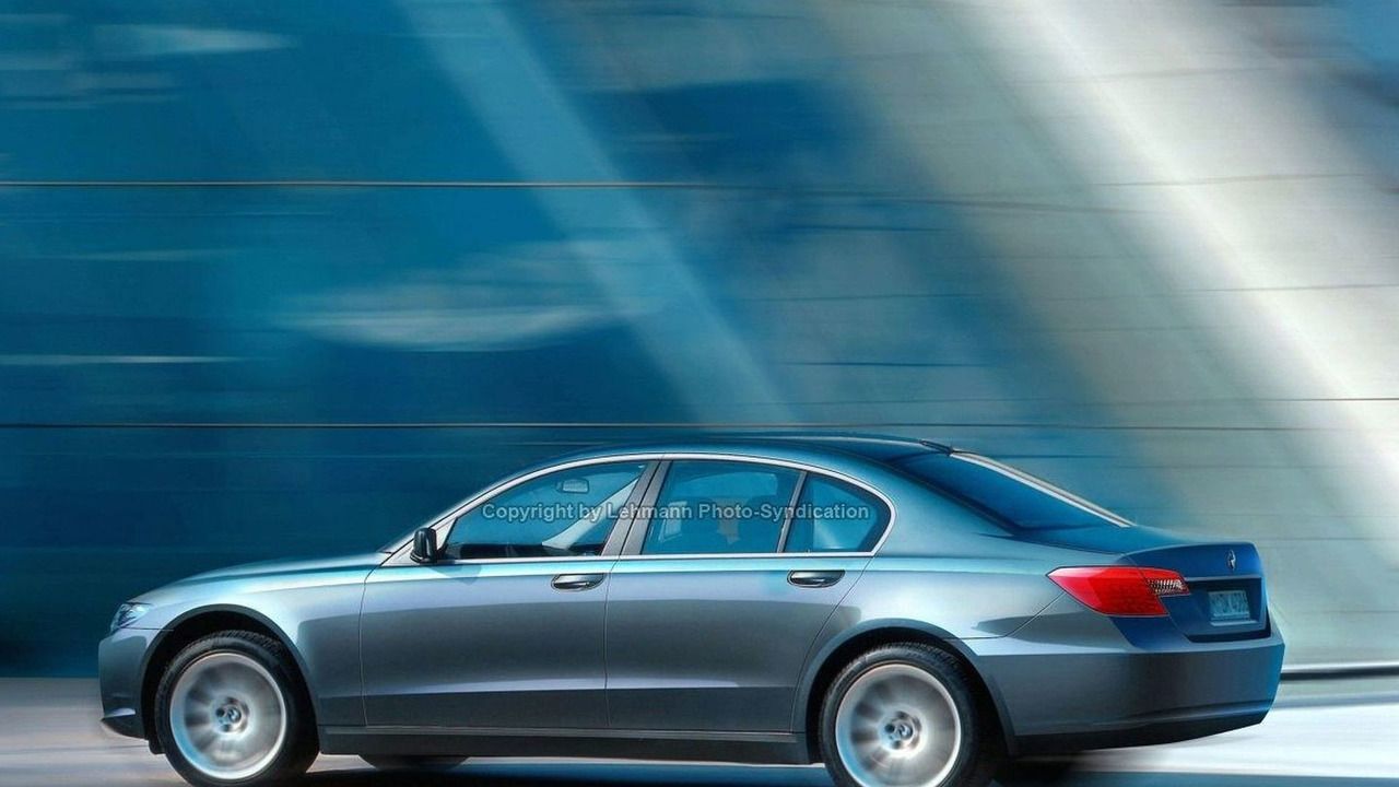 Next Gen BMW 7 Series artist rendering