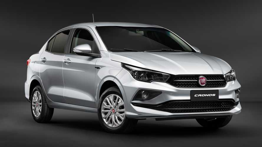 Fiat Cronos Drive 1.3 2020 é oferecido em promoção por R$ 59.990