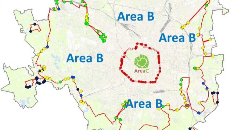 Area B di Milano, si parte il 25 febbraio