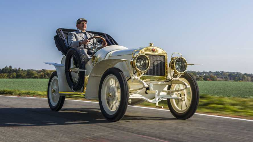 Admire Skoda's Meticulously Restored 110-Year-Old Sports Car