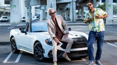 Shaggy And Sting Show Off The Abarth 124 In Their Latest Video