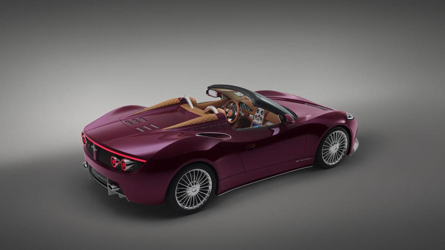 Spyker B6 Venator Spyder concept unveiled at Pebble Beach