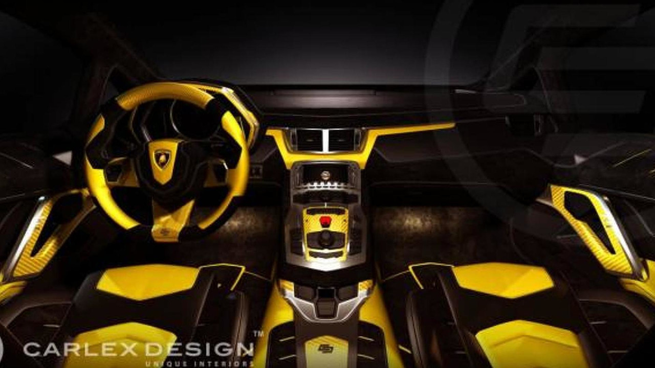 Lamborghini Aventador Anniversario Interior Restyled By Carlex