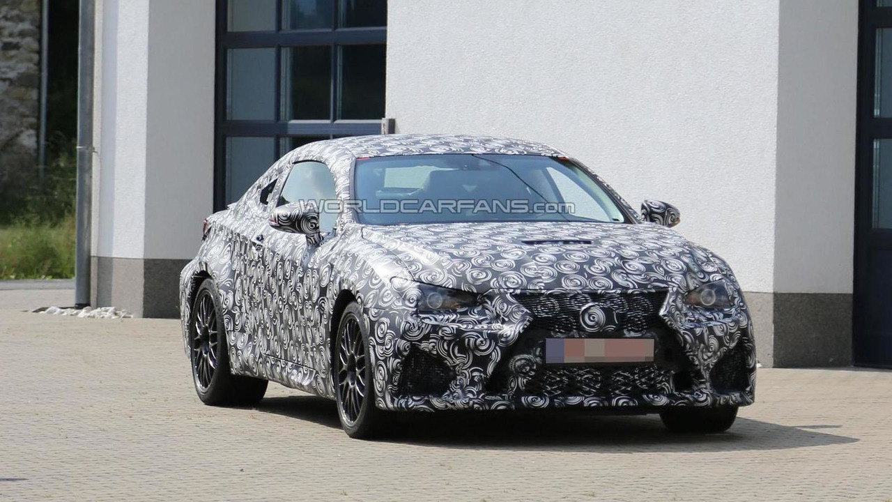 2015 Lexus IS F Coupe spy photo 15.7.2013