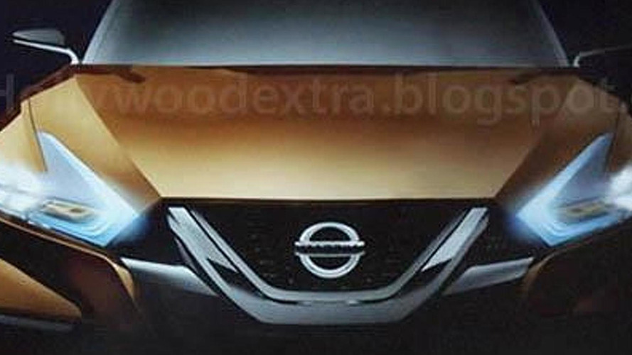 Possible Nissan Maxima concept seen in new leaked photos