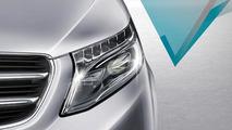 2014 Mercedes-Benz V-Class teaser
