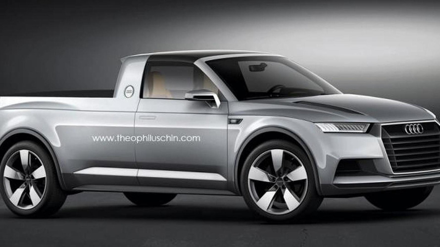 Audi pick-up concept rendered and speculated