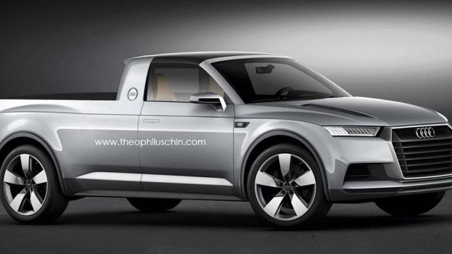 Audi pick-up konsepti gerçek olacak mı?