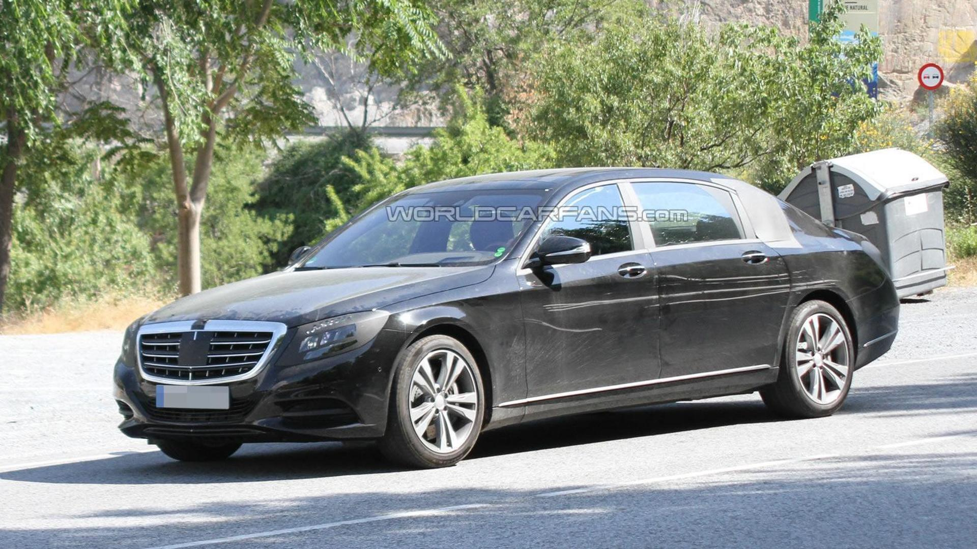 Mercedes Benz S Class Pullman to cost up to 250 000 EUR