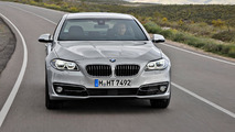 2014 BMW 5-Series Luxury Line facelift 09.10.2013