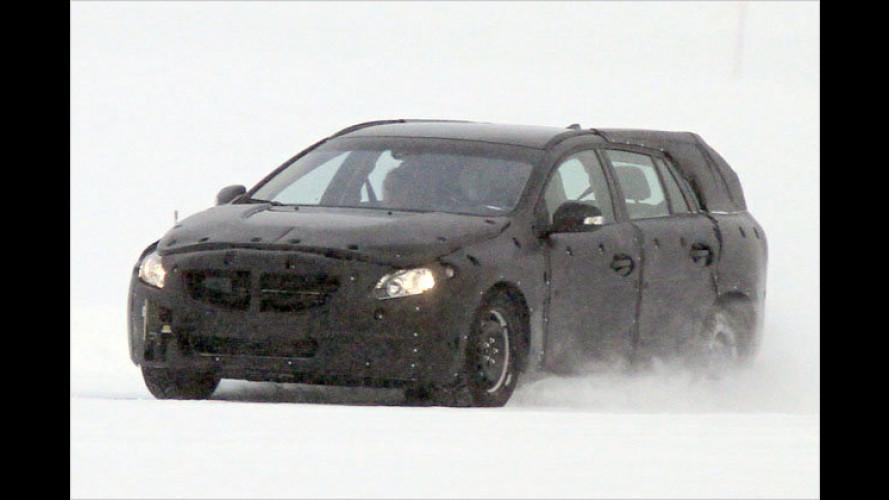 Erwischt: Volvo arbeitet am neuen V60