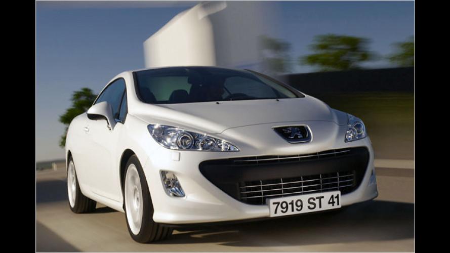 Neuer Klappdach-Franzose: Marktstart für Peugeot 308 CC
