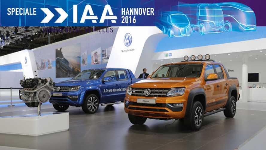 IAA Hannover 2016, Volkswagen presenta Amarok Canyon