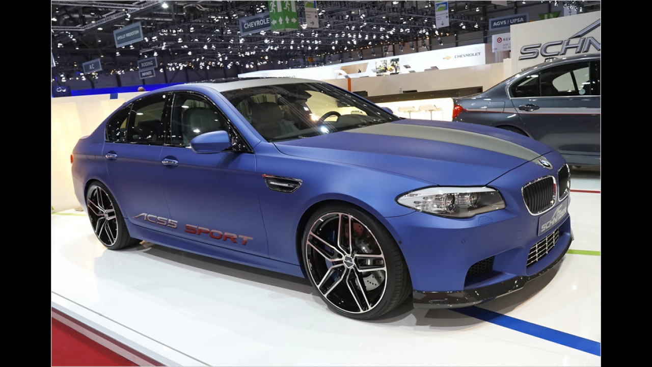 AC Schnitzer ACS5 auf BMW-M5-Basis