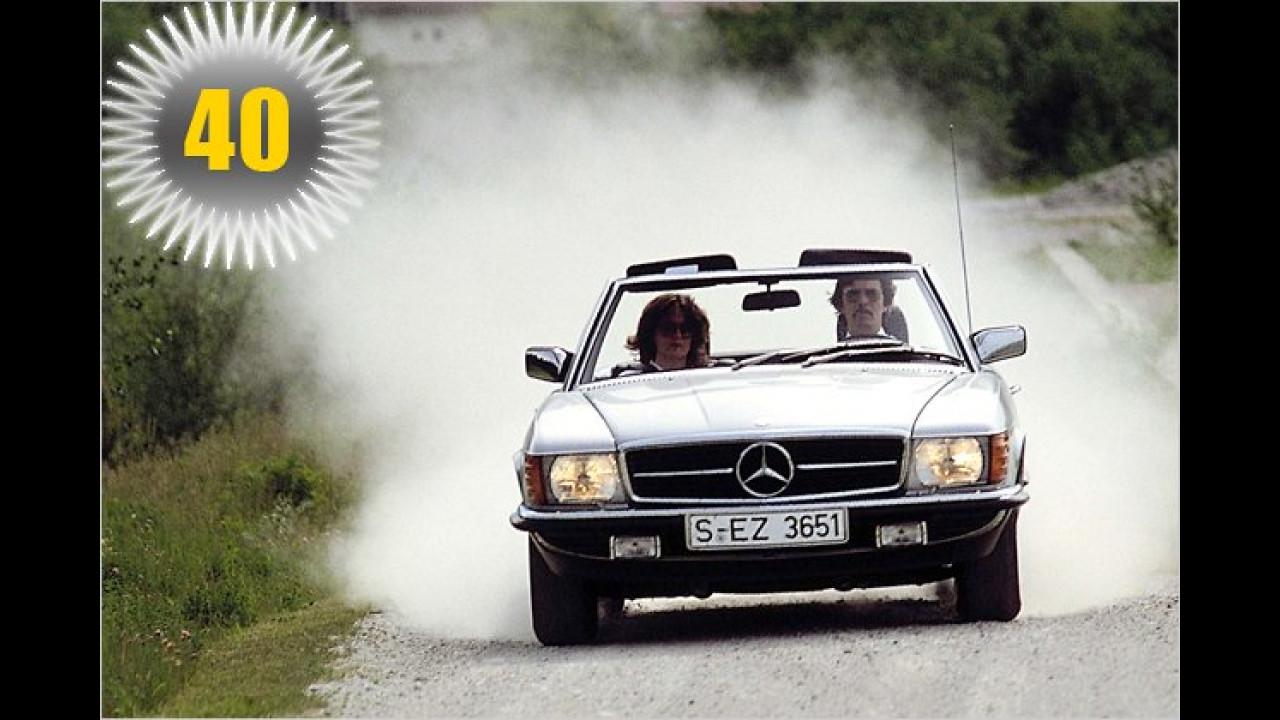 40 Jahre Mercedes SL (Baureihe 107)