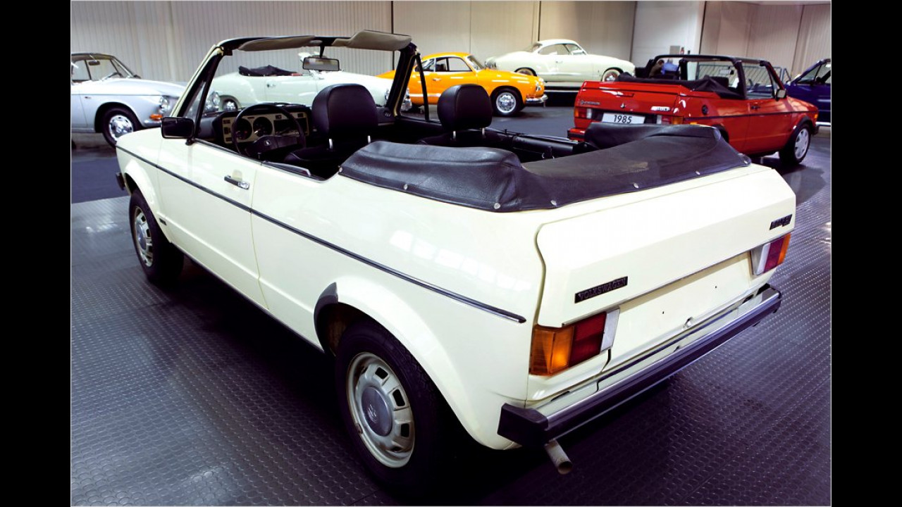 VW Golf Cabrio Prototyp (1976)