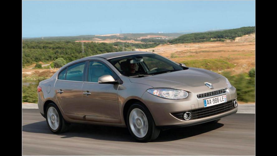 Renault Fluence: Preis fix