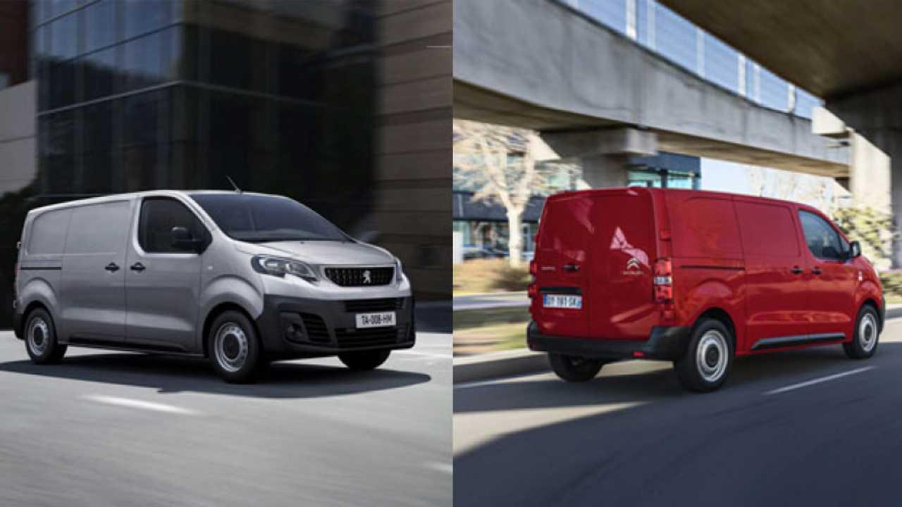 Peugeot Expert e Citroën Jumpy, prime impressioni