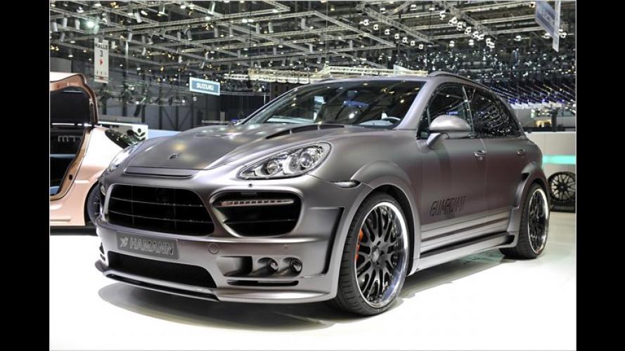 Beschützerfigur: Porsche Cayenne als Hamann Guardian