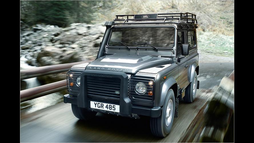 Land Rover Defender ab Modelljahr 2012 mit neuem Diesel