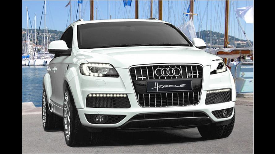 Dick aufgetragen: Audi Q7 von Hofele Design
