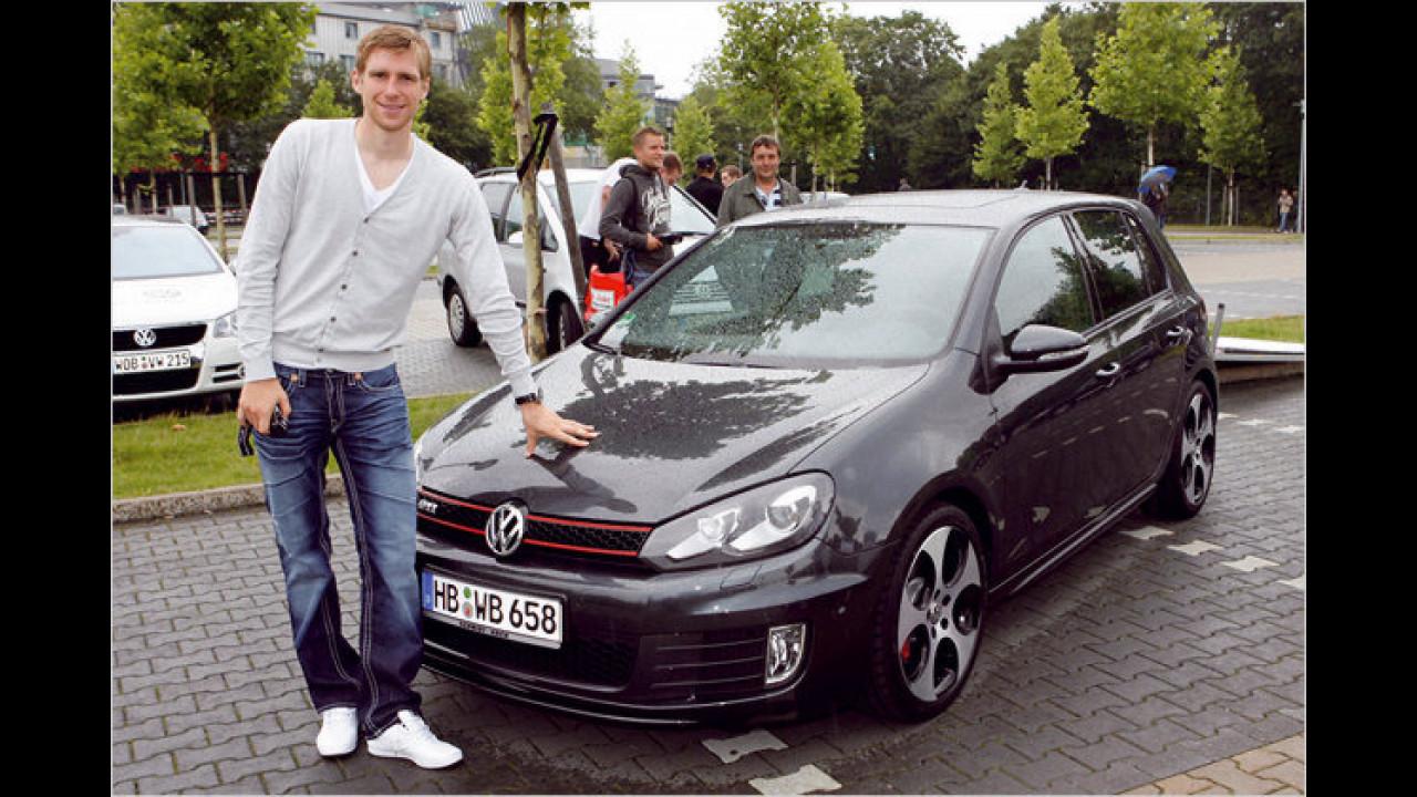 Per Mertesacker: VW Golf GTI