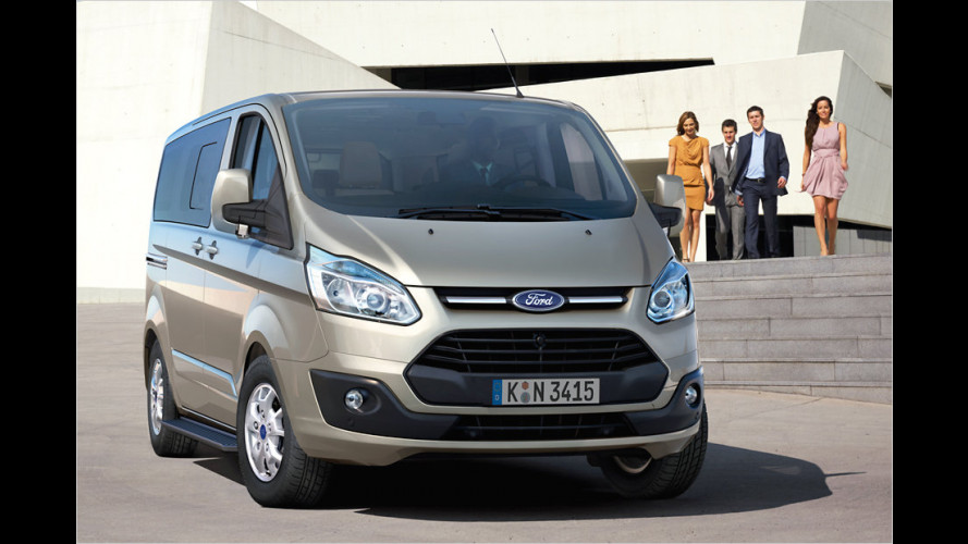 Ford Tourneo Custom (2012): Pkw-Feeling