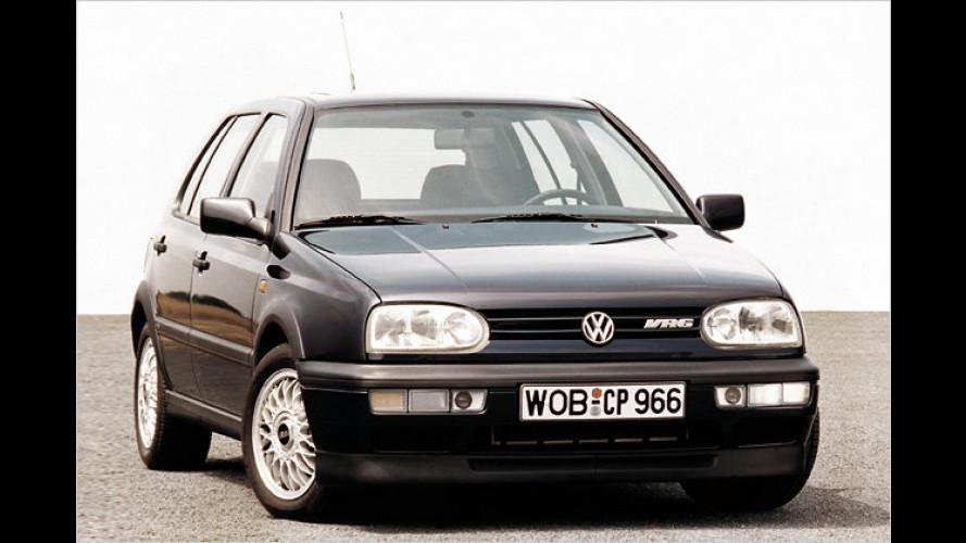 20 Jahre VR6: Wie VW sechs Zylinder in den Golf quetschte