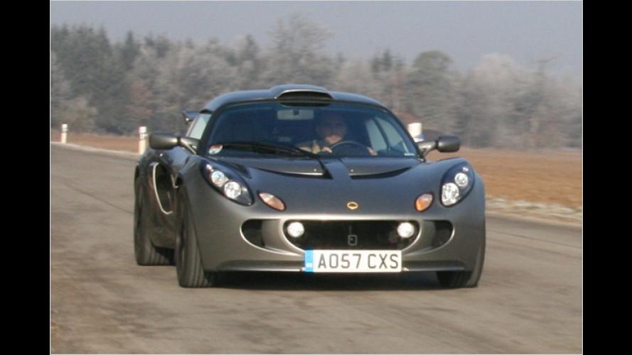 Lotus Exige S (2008) im Test: Britischer Supersportler für die Westentasche