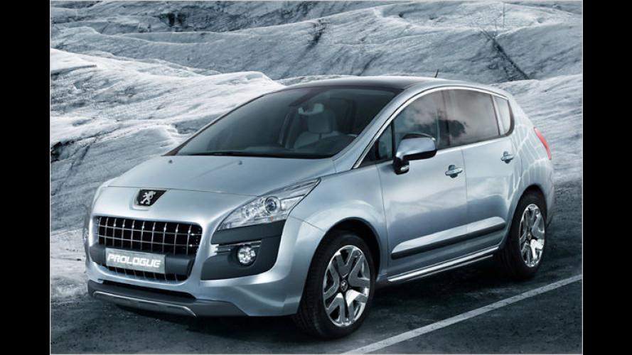 Peugeot Prologue: Erste Bilder von neuem Kompaktvan