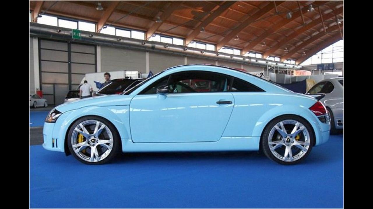 Dieser Audi TT von Pogea Racing steckt unter Lambo-Lack und bremst mit Lamborghini-Bremsen