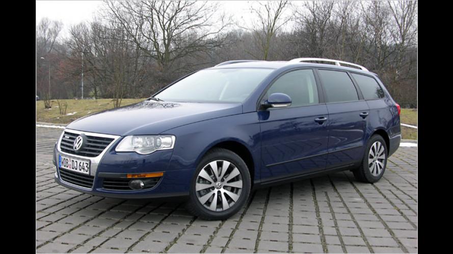 Euro 6 schon heute: VW Passat Variant BlueTDI im Test