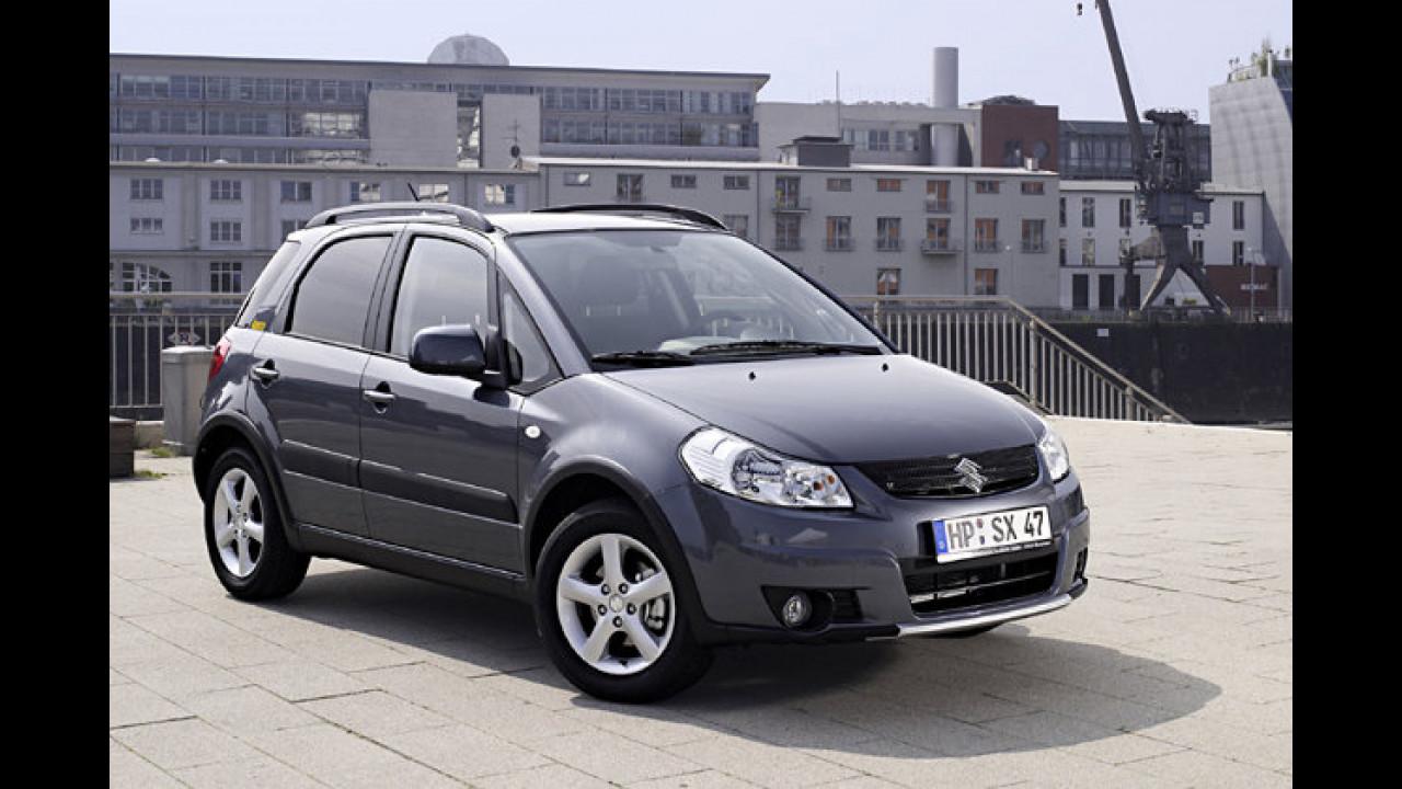 Suzuki SX4 und Fiat Sedici