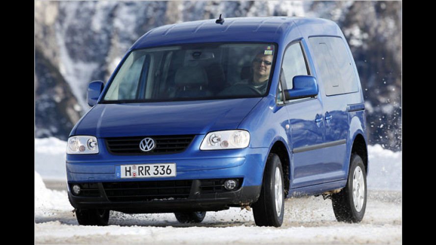 Der VW Caddy Life 1.9 TDI 4Motion im Test: A new car is born