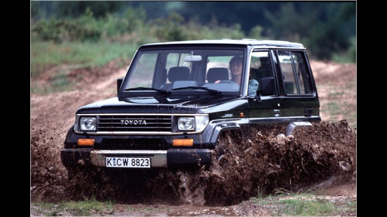 Land Cruiser Light Duty J7 (1985 bis 1996)