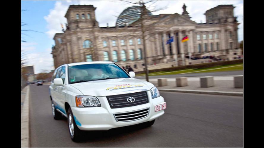 Toyota FCHV: Wie Wasserstoff in die Brennstoffzelle kommt