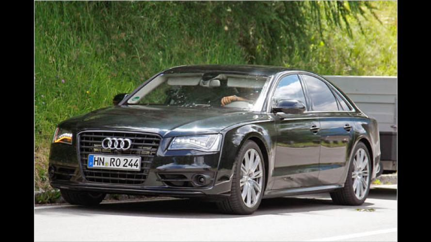 Erstmals ungetarnt: Der neue Audi S8