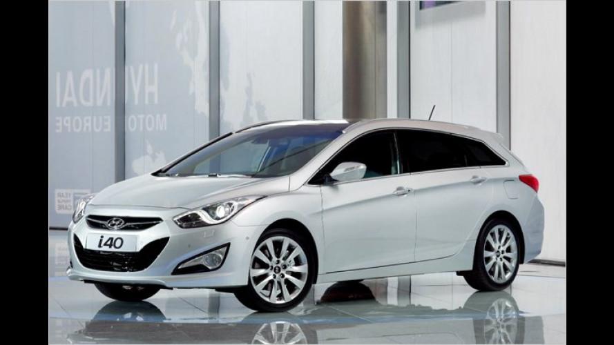 Neuer Hyundai i40: Angriff auf den Passat