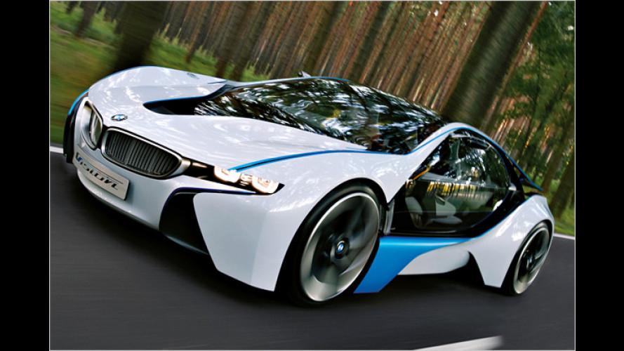 BMW Vision Efficient Dynamics: Heiße Öko-Überraschung auf der IAA 2009