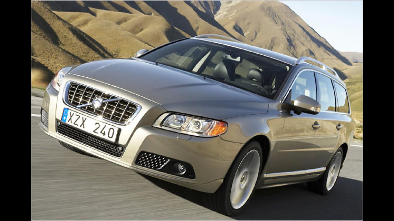 Platz 3 Oberklasse: Volvo V70